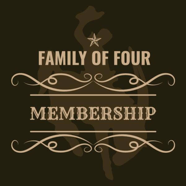 Family of Four Membership